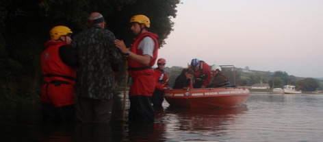 Avon & Somerset Search and Rescue flood victims