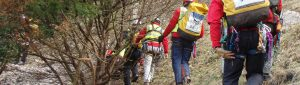 Steep ground search and rescue.