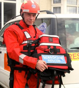 ASSARs new drysuit and buoyancy aid required after the Somerset flooding in February 2014.