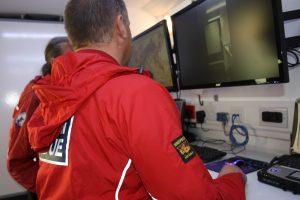 ASSAR Incident Control Vehicle monitors